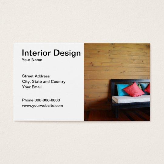 carte de visite de design d 39 int rieur On carte visite design d interieur