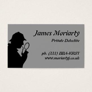 Carte de visite de détective privé/investigateur
