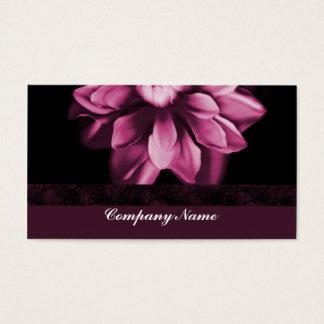 Carte de visite de fleur de Bourgogne