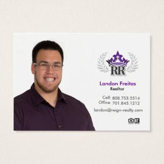 Carte de visite de Landon