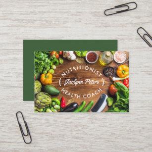Carte De Visite Legumes Frais