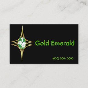 Carte De Visite Logo Dmeraude Et