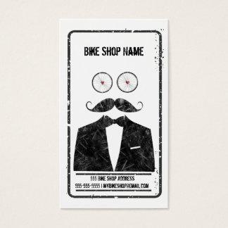 Carte de visite de magasin de bicyclette de