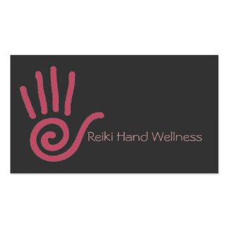 Carte de visite de main de Reiki