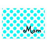 Carte de visite de maman