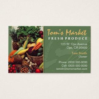 Cartes de Visite Légumes  Zazzle.fr