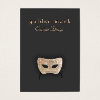 Carte de visite de masque de théâtre de