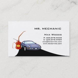 Carte De Visite Mcanicien Automobile
