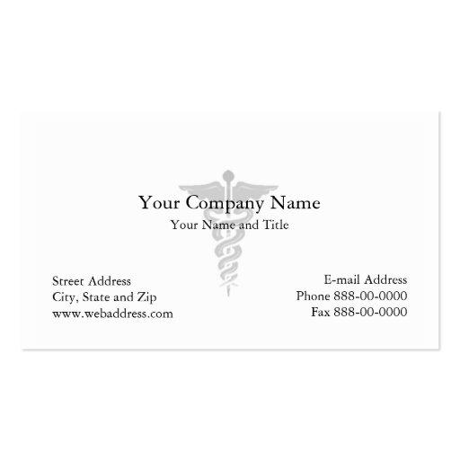 Carte De Visite Medecin Zazzle