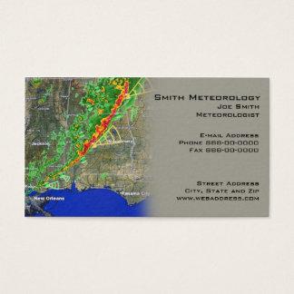 Carte de visite de Meterologist