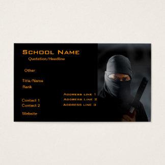 Carte de visite de Ninja