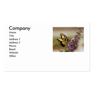 Carte de visite de papillon