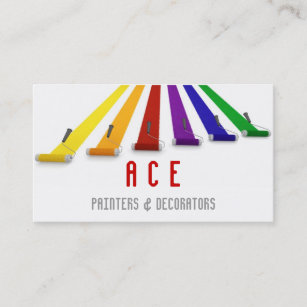 Carte De Visite Peintres Et Decorateurs