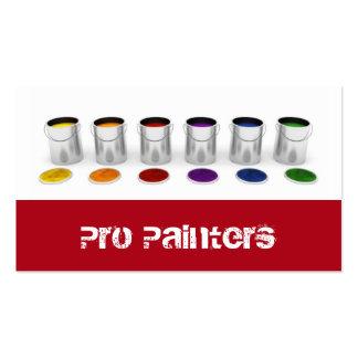 Carte de visite de peintres et de décorateurs