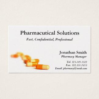 Carte de visite de pharmacie