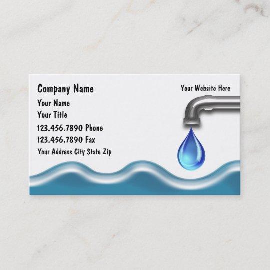 Carte De Visite Plombier