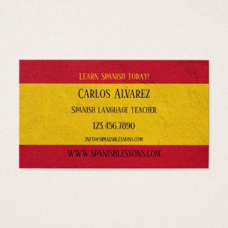 Carte De Visite En Espagnol