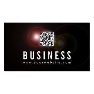 Carte de visite de promoteur d'Apps de fusée de le