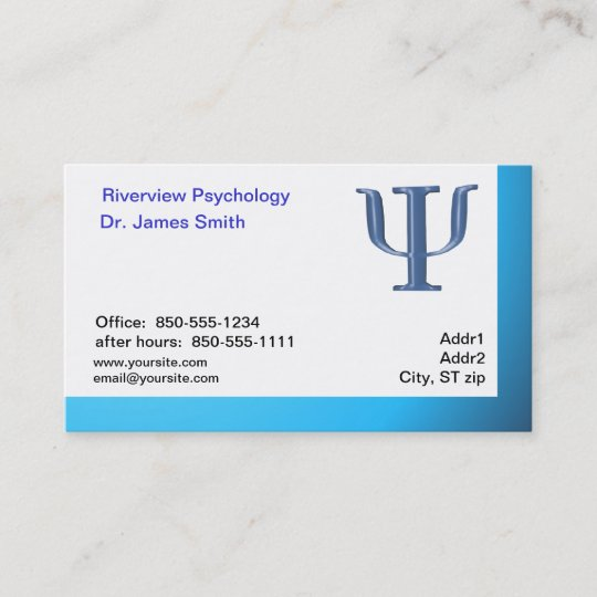 Carte De Visite Psychologue