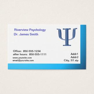 Carte de visite de psychologue