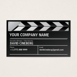 Carte de visite de réalisateur/producteur exécutif