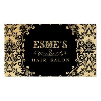 Carte de visite de styliste de salon de coiffure