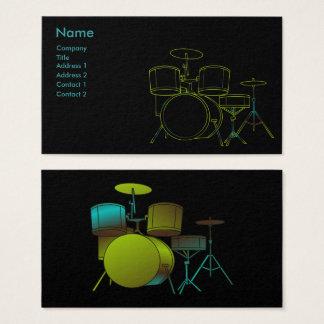 Carte de visite de tambours