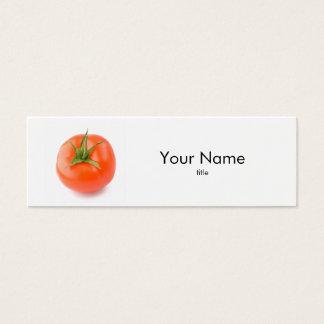 Carte de visite de tomate