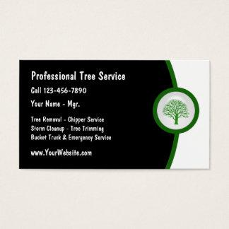 Carte de visite de trimmer d'arbre