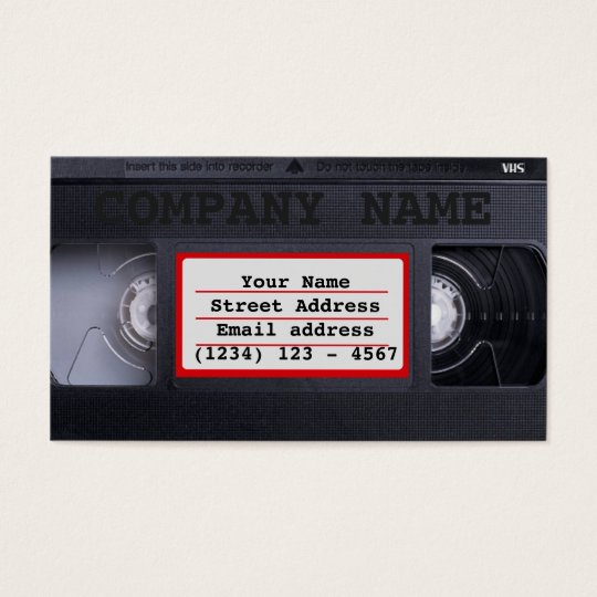 Carte De Visite VHS