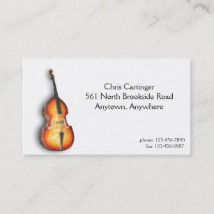 Carte De Visite Violon Bas