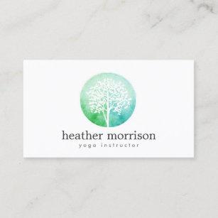 Carte De Visite Yoga Et Sante Darbre