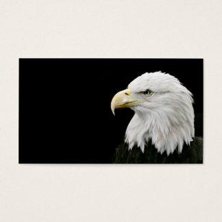 Carte de visite d'Eagle chauve
