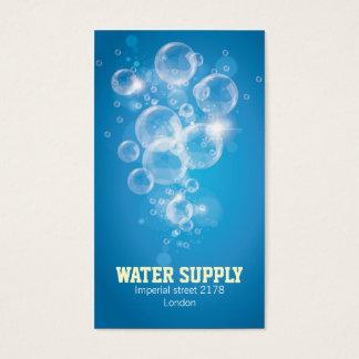 carte de visite d'eau propre
