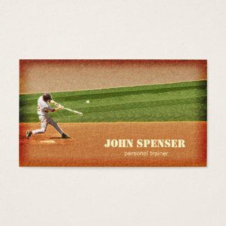 Carte de visite d'entraîneur de base-ball