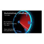 Carte de visite des véhicules à moteur/mécanicien