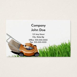 Carte de visite d'herbe