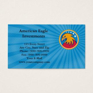 Carte de visite d'investissements d'Eagle