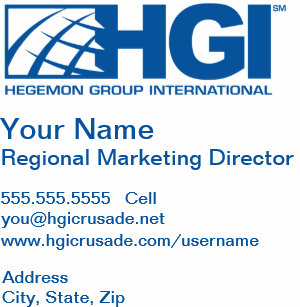 Carte De Visite Directeur Du Marketing Rgional HGI