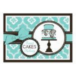 Carte de visite doux Turq de gâteau