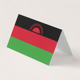 Carte De Visite Drapeau du Malawi