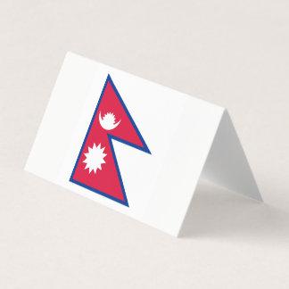 Carte De Visite Drapeau du Népal