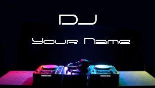 Carte De Visite Du DJ