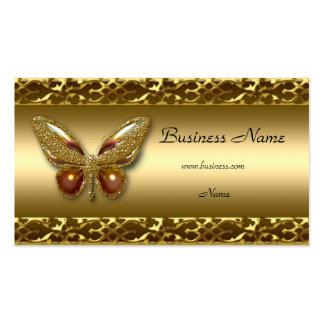 Carte de visite élégant de papillon d'équilibre d'