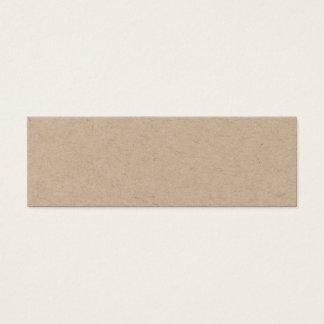 Carte de visite élégant minimaliste fait main de
