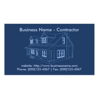 Carte de visite : Entrepreneur/construction