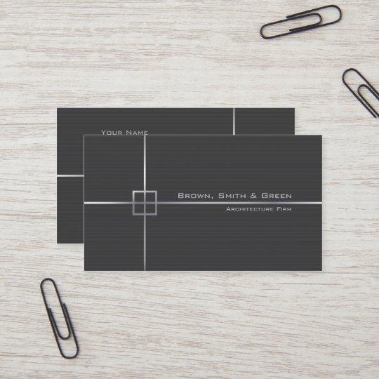 Carte De Visite Entreprise Darchitecture