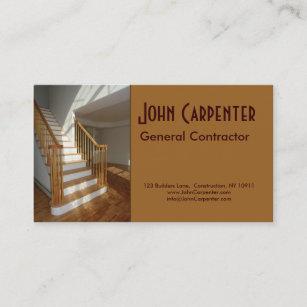 Carte De Visite Escalier Dans La Maison Nouvelle Construction
