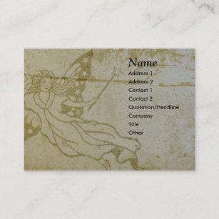 Carte De Visite Feerique Grunge