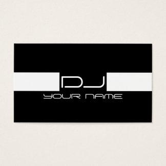 Carte de visite frais du DJ Cartes De Visite